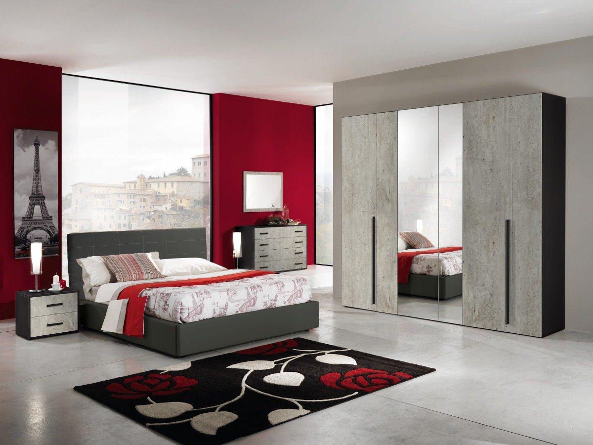 Parete Grigia Camera Da Letto camere da letto e colori per il relax