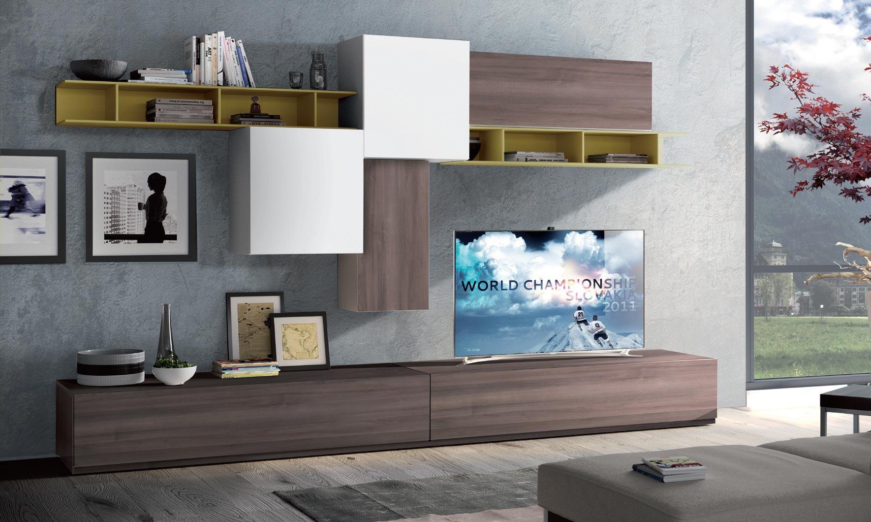 Mobili Particolari Per Soggiorno il mobile porta tv: spazio alla fantasia