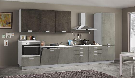 Cucine con composizioni bloccate - Casa Tua Arredamento Italiano