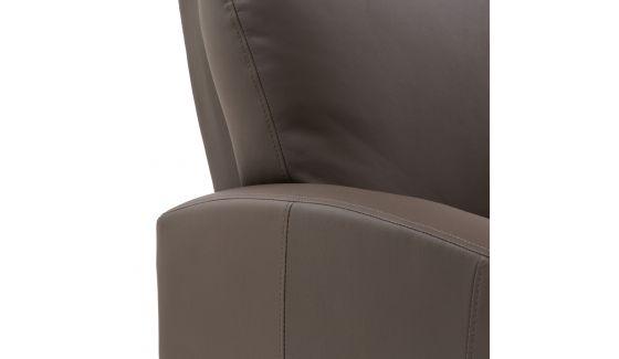 POLTRONA RELAX - RECLINER MANUALE - TESSUTO ECOPELLE